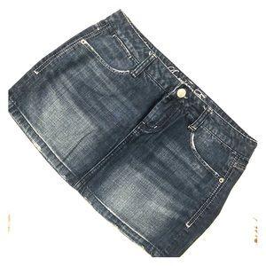 American Eagle Denim, Jean Mini Skirt